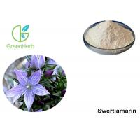 China White Powder Swertia Japonica Extract , Inhibit Liver Cancer Cell 98% Swertiamarin on sale
