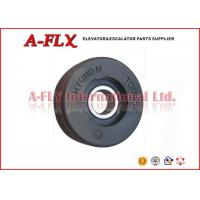 China Black / Red Tongda Step Elevator & Escalator Roller For Hyundai Escalator 75*25*6204 wholesale