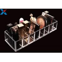 Best Clear Acrylic Makeup Organiser Display Box For Blush / Powder Foundation wholesale