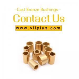 Best Tin Bronze Bush Bearing Bronze SAE 660 Solid Lubricant Casting wholesale