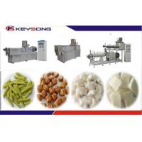 China Slanty Bar Twin Screw Extrusion Snacks Food Machinery Fully - Automatic on sale
