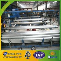 Best hot dipped galvanized steel pipe,BS1387 steel tube,220g/m2 zinc coating steel pipe wholesale