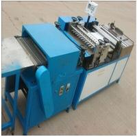 PLC Auto Counter Air Filter Making Machine With Pleating Height 20mm - 50mm