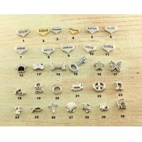 China Stainless Steel Locket Charms Sterling Silver Charms on sale