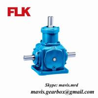 Best Electric Motor Reduction Gearbox Bevel Gear Speed Reducer For Lifting Equipment wholesale