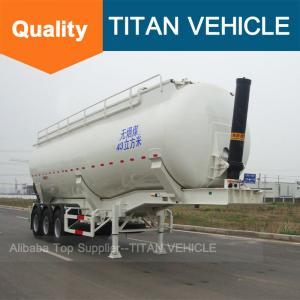 Best TITAN Cement trailer banana type , Cement Trailer Self Loading,Tipping Cement Bulker Trailer wholesale
