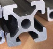 Best AL-20*20 Rectangle Pipe T 2.0mm Custom Aluminium Extrusion wholesale