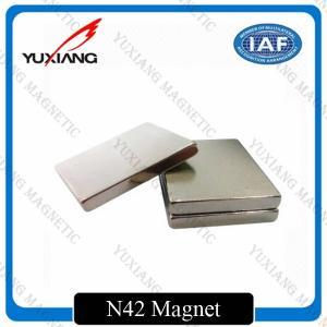 China Sintered Neodymium Block Magnets Tighter Tolerances For MRI / Wind Generator on sale