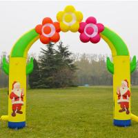 Buy cheap Customized Outdoor Christmas Decoration Inflatable Party Arch from wholesalers