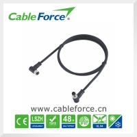Buy cheap IP67 Angled M8 Circular Connector , male to female 6 pin connector for sensor product