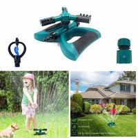 China Automatic 360 Rotating Adjustable Garden Water Sprinklers Lawn Irrigation System Covering Large Area with 3 Arm Sprayers on sale