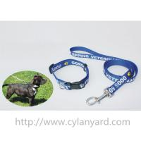 Best Heavy duty polyester lanyard dog collar and dog lead gift set, premium pet product gifts, wholesale