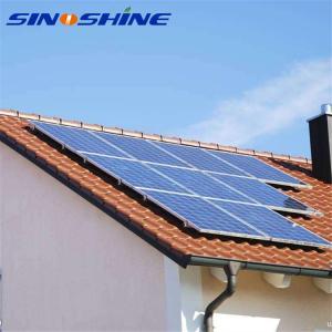 China Polycrystalline 3kw 50kw 1Mw solar wind hybrid tracking system on sale