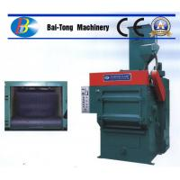 Best Tumble Rubber Belt Steel Shot Blasting Machine Safe Operation For Casting Metal Parts wholesale