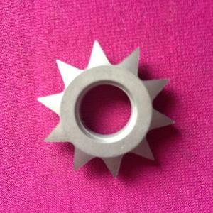 China tungsten carbide gear hobbing cutter on sale