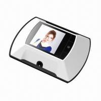 China Door Viewing Peephole System/Digital Viewer with 2.4-inch TFT LCD and CMOS Sensor on sale