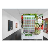 Best OEM Credit Card Vending Machine Salad Jar Bottle Vending Machine With LCD Screen wholesale