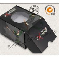 Best Black Custom Printed Corrugated Packaging Boxes For Elegant Watch / Electronics wholesale