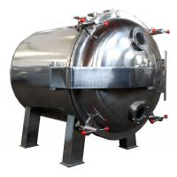 Best Round Shape Static Vacuum Dryer Oven , Industrial Tray Dryer For Foodstuff wholesale
