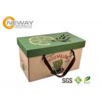Best Luxury Printed Packaging Boxes , Custom Printing Corrugated Shipping Boxes wholesale