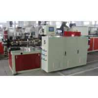 China Plastic Extrusion Machinery PVC Pipe Conical Double Screw Extruder Machine on sale