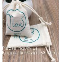Best Drawstring Bags Reusable Muslin Cloth Gift Candy Favor Bag Jewelry Pouches for Wedding DIY Craft Soaps Herbs Tea Spice B wholesale