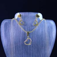 Best High Quality Stainless Steel Jewelry Set LUS86 wholesale