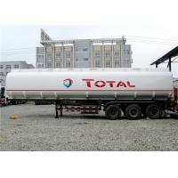 Best Heavy Duty 3 Axle 45000L Oil Tanker Semi Trailer 4 Compartments 45M3 For Transporting Oil wholesale