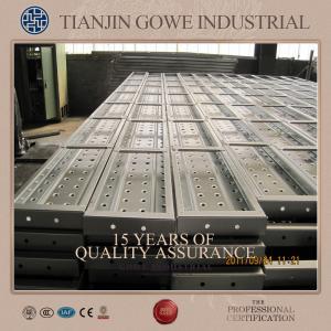 Best Metal scaffolding planks 250mm width steel building ladder scaffold platform wholesale