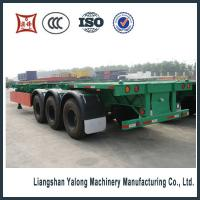 Best 3 axle 40ft container semi trailer made in China wholesale