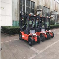Best Pneumatic Tires Diesel Forklift Truck 3000mm Lift Height Automatic Transmission wholesale