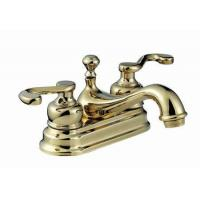 Buy cheap Double Handle Double Hole Basin Mixer from wholesalers