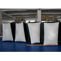 Buy cheap 0.6mm / 0.9mm PVC Tarpaulin Inflatable Sport Games , Inflatable Paintball Bunkers from wholesalers