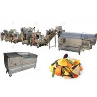 Best Stainless Steel 304 Potato Chips Making Machine Fruit And Vegetable Chips Semi - Automatic wholesale