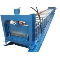 Buy cheap 1.2mm Thickness Anode plate Cold Roll Forming Machine PLC control with Punching System product