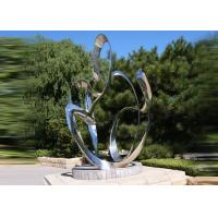 Best Custom Size Stainless Steel Sculpture For City Decoration OEM / ODM Acceptable wholesale