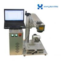 Best Mini Portable Fiber Laser Etching Marking Machine Desktop Type Metal Laser Engraver wholesale