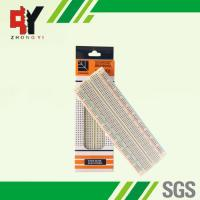 MB-102 Color Solderless Breadboard Back Side With Adhesive Paper