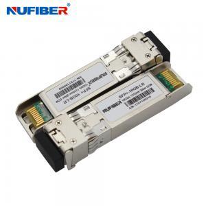 Best 10gb Sfp+ Optical Transceiver , 2 Core LC Cisco Compatible Transceiver 10km 1310nm wholesale