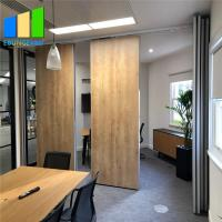 Best Office Wood Movable Partition Wall Panel Folding Partition Walls For Conference Room wholesale