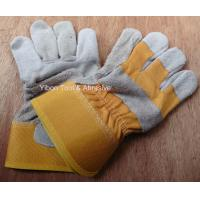 """Best 10.5"""" Short Leather Welding Safety Gloves wholesale"""