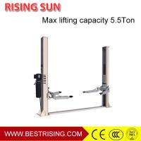 Best 2 column double cylinder hydraulic car lift post for workshop equipment CE wholesale