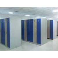 Best Single Tier Lockers PVC Material , Gray Cabinet Commercial Gym Lockers wholesale