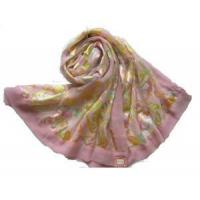 Best Burnt-out Raw Silk Scarf (HP-C1075) wholesale