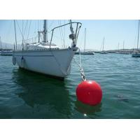 Best 100kg Foam Filled Mooring Buoys , Ship Mooring Buoys With Chain Support wholesale