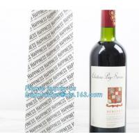 China Wholesale Black Color Custom Your Own Logo Printed Recycled Wine Paper Bags,Paper Bag Shopping Wine Garment Cookie Packa on sale
