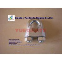 China DIN741 wire rope clips on sale
