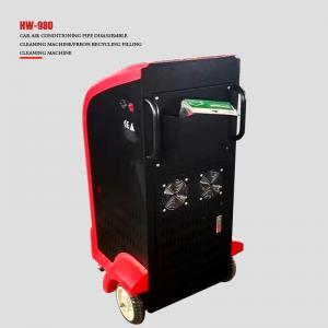 Best Freon R134a Refilling 750 Watts AC Recycling Machine LCD Screen wholesale