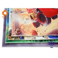 China Kids Carpet Flooring Polyester  Printed Felt Sheets Backed Non - Slip Nonwoven on sale