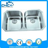 Best cUPC best quality single bowl 304 stainless steel kitchen  undermount sink wholesale